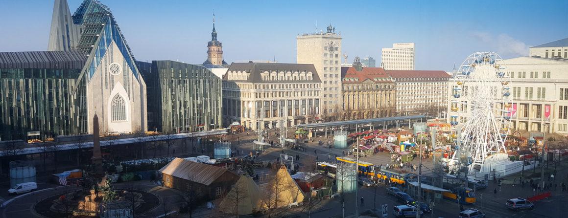 Panorama Leipzig Augustusplatz