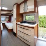 Unser Wohnwagen Hobby 495 UL Excellent von innen