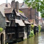 Haus am Kanal in Brügge
