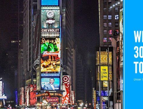 Werbung bei 30 Tage on Tour - Unser Werbe-Manifest
