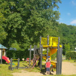 Spielplatz auf dem Campingplatz Hetzingen