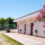 """""""Unser"""" Waschhaus in der Zona Verde auf dem Campingplatz Spiaggia Lunga in Vieste am Gargano"""
