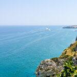Blick von Peschici auf das Meer