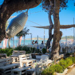 "Beachbar ""Panini die Mare"" auf dem Campingplatz Spiaggia Lunga am Gargano"