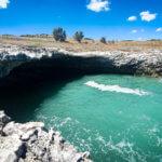 Grotte auf dem Weg in Richtung Vieste